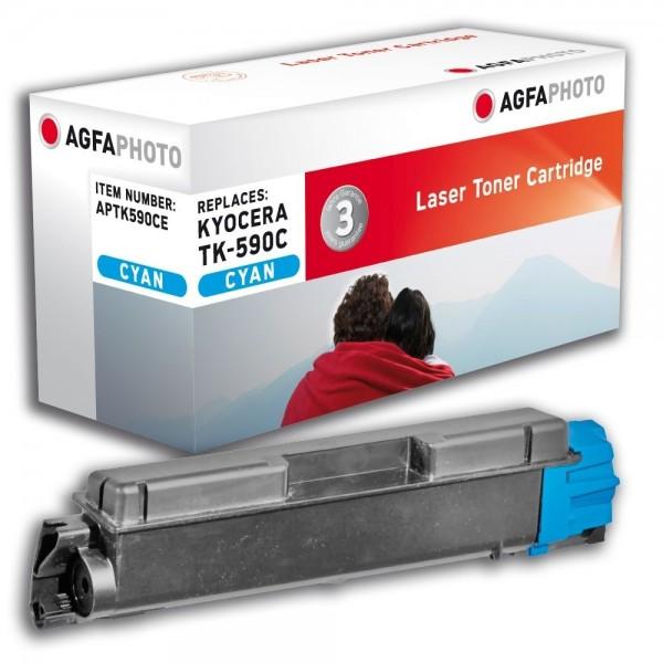 AGFA Photo Toner cyan TK-590CE für Kyocera FS-C2026 FS-C2126