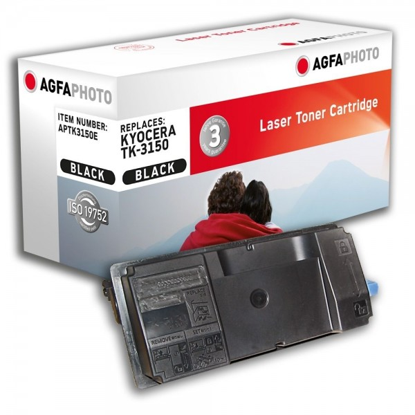 AGFA Photo Toner schwarz TK-3150E für Kyocera Ecosys M3040 3540
