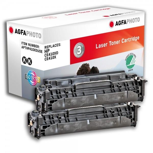 AGFA Photo Toner schwarz HP410XDUOE für HP LaserJet PRO 300 Color M351A