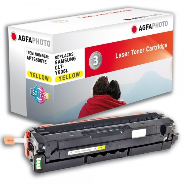 AGFA Photo Toner gelb 506YE für Samsung CLP-680 CLX-6260