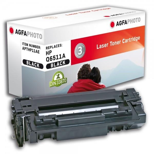 AGFA Photo Toner schwarz HP11AE für HP LaserJet 2400 Series