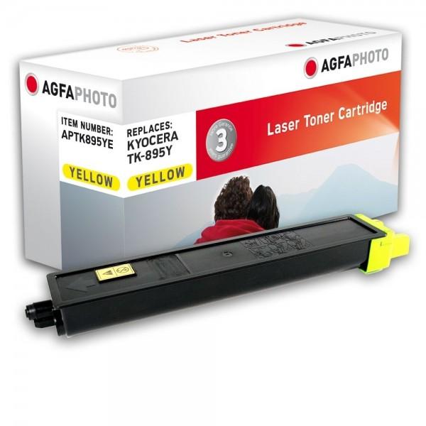 AGFA Photo Toner gelb TK-895YE für Kyocera FS-C8020 FS-8025