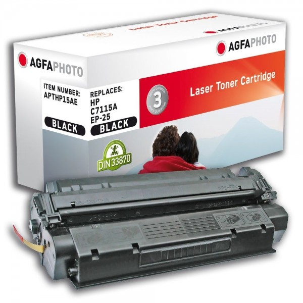 AGFA Photo Toner schwarz HP15AE für HP LaserJet 1000 LaserJet 3300