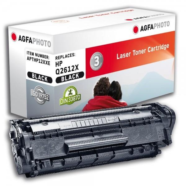 AGFA Photo Toner schwarz HP12XXE für HP LaserJet 1010 LaserJet 3000