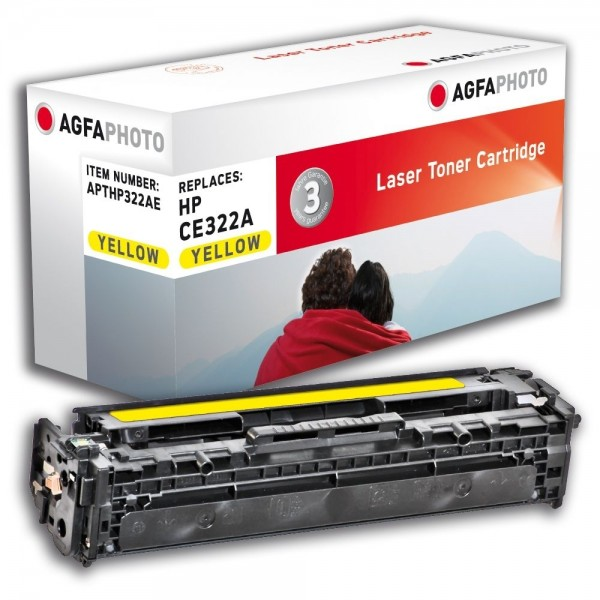 AGFA Photo Toner gelb HP322AE für HP Color LaserJet PRO CM1400 Series