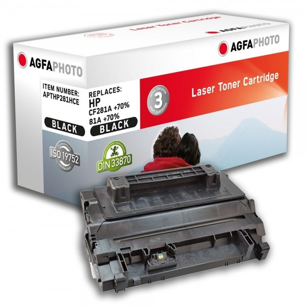AGFA Photo Toner schwarz HP281HCE für HP LaserJet Enterprise M604 DN