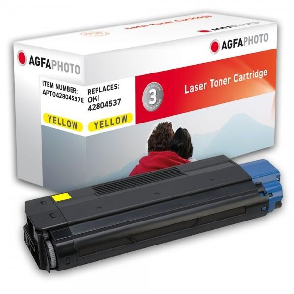 AGFA Photo Toner gelb 42804537E für OKI C3200n