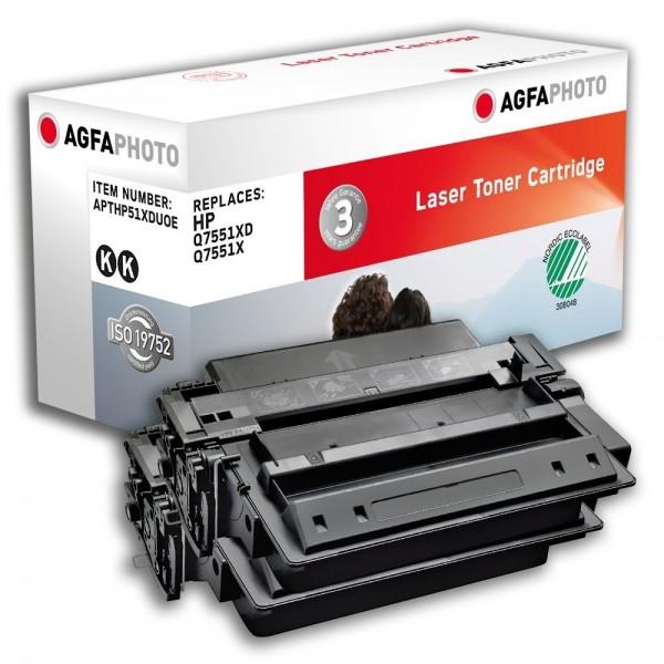 AGFA Photo Toner schwarz HP51XDUOE für HP LaserJet M3000 LaserJet P 3004