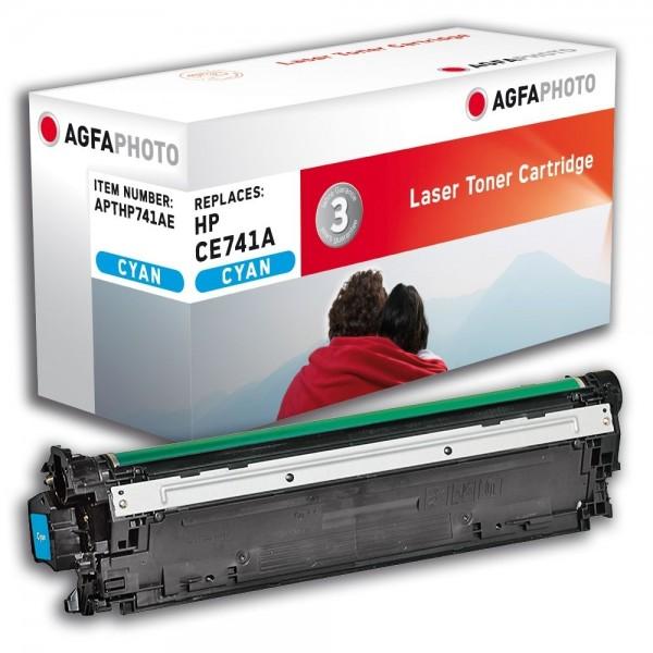 AGFA Photo Toner cyan HP741AE für HP Color LaserJet CP5200 Series