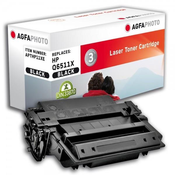 AGFA Photo Toner schwarz HP11XE für HP LaserJet 2400 Series