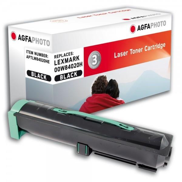 AGFA Photo Toner schwarz W84020HE für Lexmark Optra W840