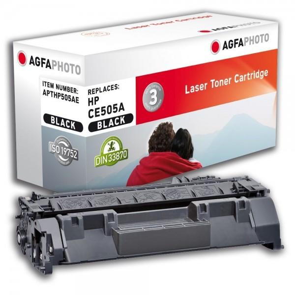 AGFA Photo Toner schwarz HP505AE für HP LaserJet P2030 LaserJet P 2050