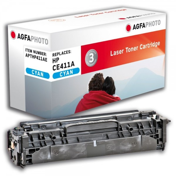 AGFA Photo Toner cyan HP411AE für HP LaserJet PRO 300 Color M351A