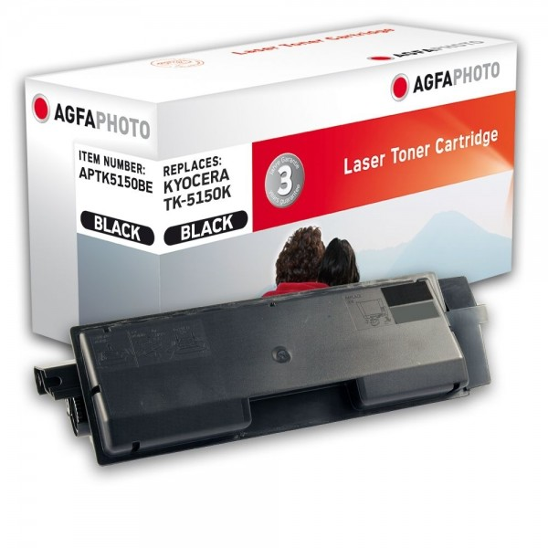 AGFA Photo Toner schwarz TK-5150BE für Kyocera Ecosys M6035 M6535