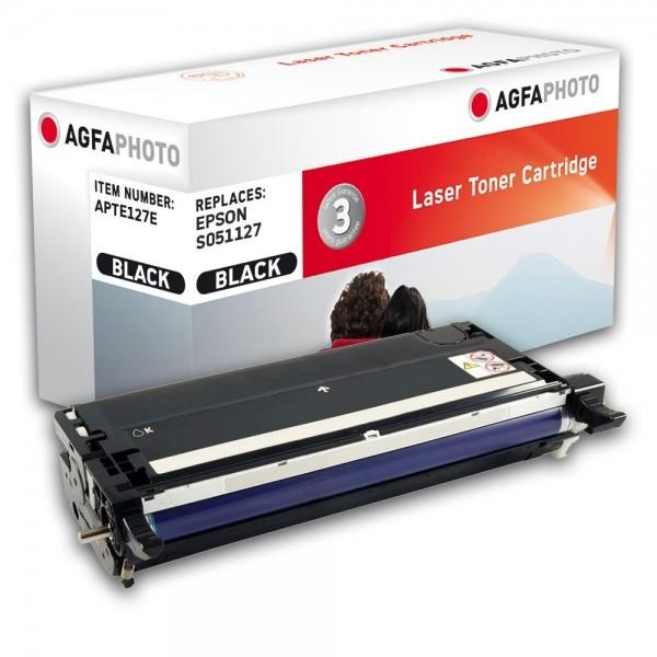 AGFA Photo Toner schwarz 127E für Epson Aculaser C3800 S051127