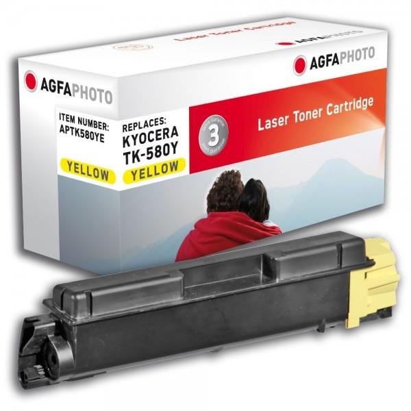 AGFA Photo Toner gelb TK-580YE für Kyocera FS-C5150