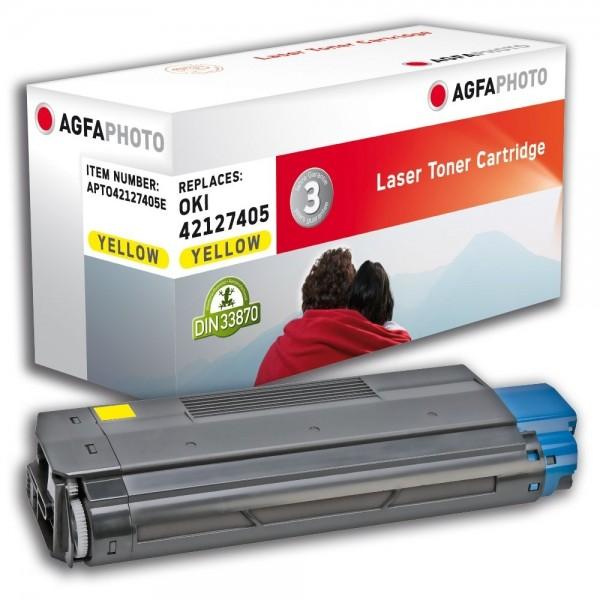 AGFA Photo Toner gelb 42127405E für OKI C5100 C5200 C5300 C5400