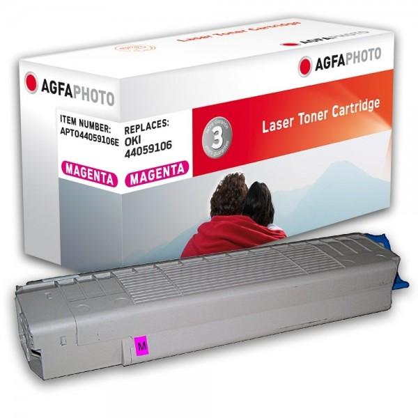 AGFA Photo Toner magenta 44059106E für OKI C810 C830