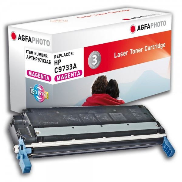 AGFA Photo Toner magenta HP9733AE für HP Color LaserJet 5500 Series