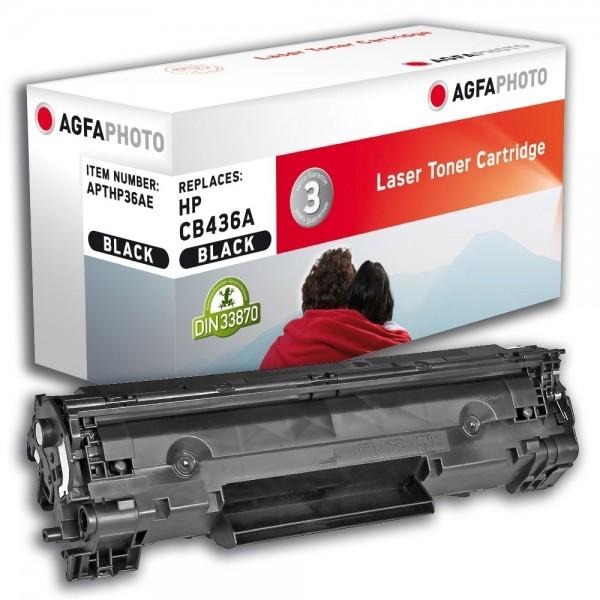 AGFA Photo Toner Schwarz HP36AE HP LaserJet M1120A M1522 P1503 P1504 P1505 P1506
