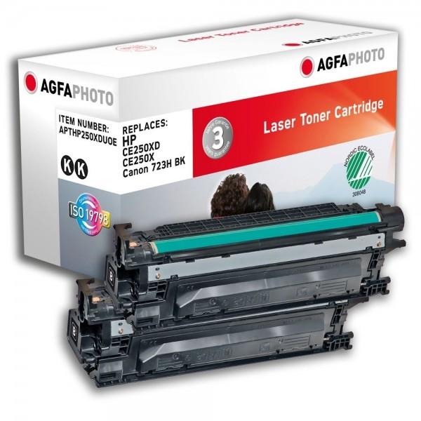AGFA Photo Toner schwarz HP250XDUOE für HP LaserJet CM3500 Series