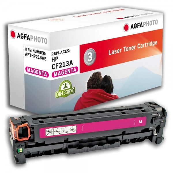 AGFA Photo Toner magenta HP213AE für HP LaserJet PRO 200 Color M251N