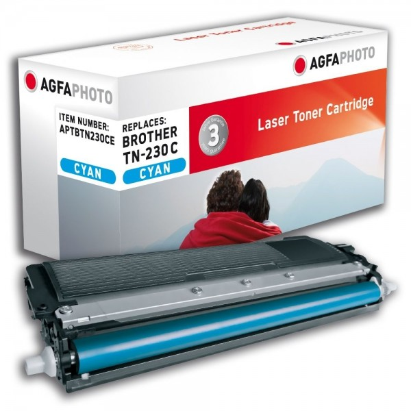 AGFA Photo Toner cyan TN-230CE für Brother DCP-9010