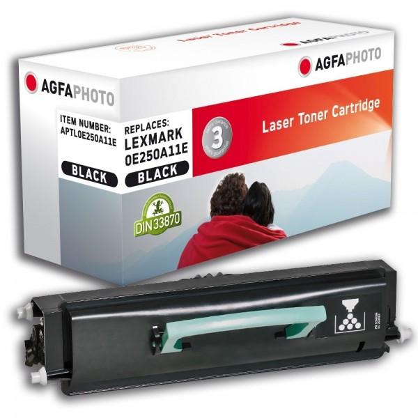 AGFA Photo Toner Schwarz 0E250A11E für Lexmark E250 E350 E352