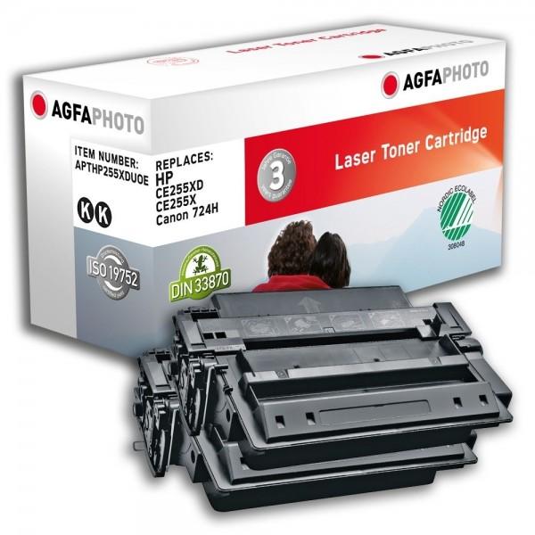 AGFA Photo Toner schwarz HP255XDUOE für HP LaserJet Enterprise 500 MFP M525