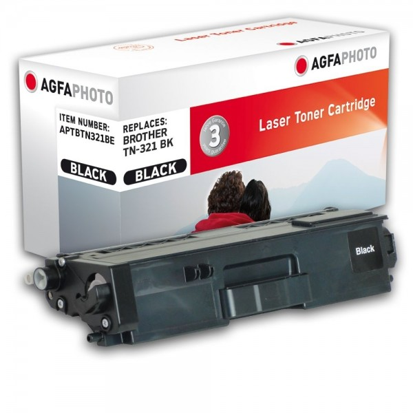 AGFA Photo Toner schwarz TN-321BE Brother HL-L8250
