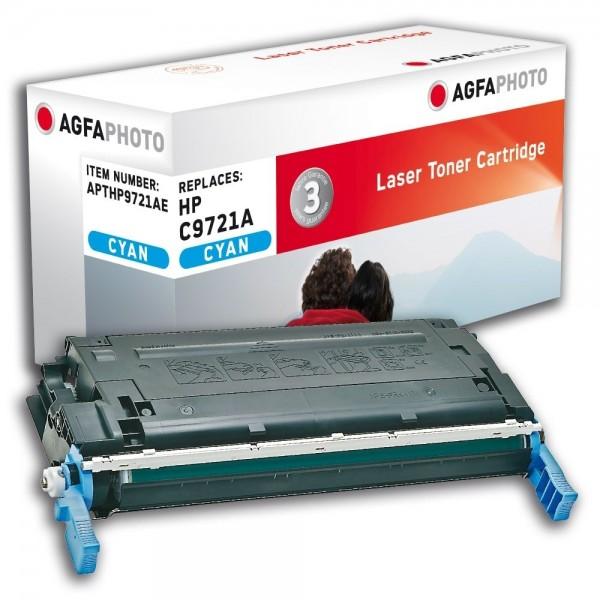 AGFA Photo Toner cyan HP9721AE für HP Color LaserJet 4600