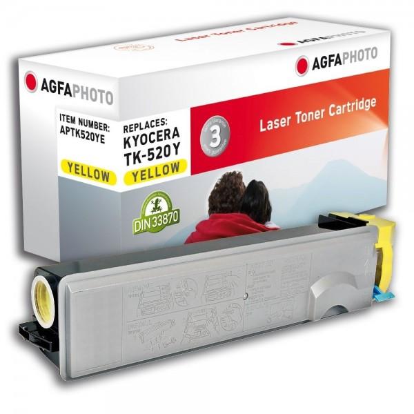 AGFA Photo Toner gelb TK-520YE für Kyocera FS-C5015N