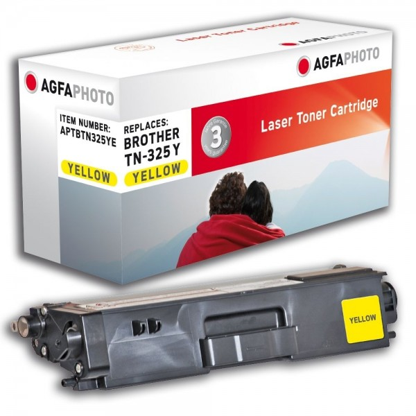AGFA Photo Toner gelb TN-325YE Brother HL-4140 DCP-9055
