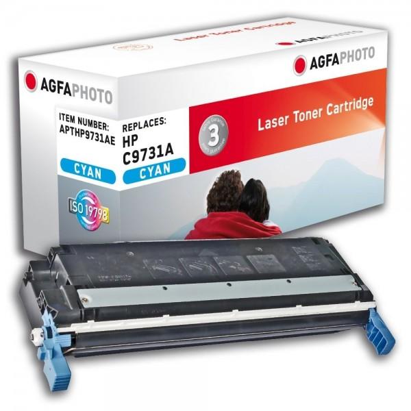 AGFA Photo Toner cyan HP9731AE für HP Color LaserJet 5500 Series