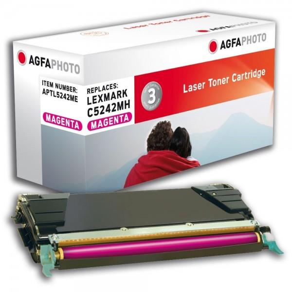AGFA Photo Toner magenta 5242ME für Lexmark C524 C534