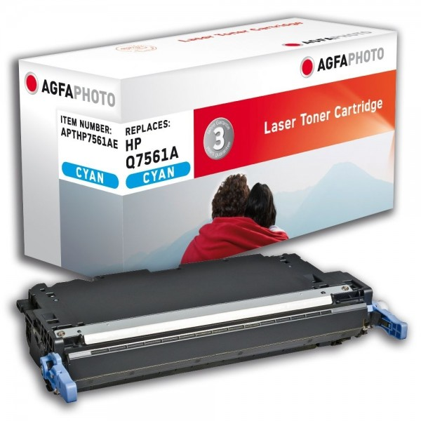 AGFA Photo Toner cyan HP7561AE für HP Color LaserJet 2700 3000