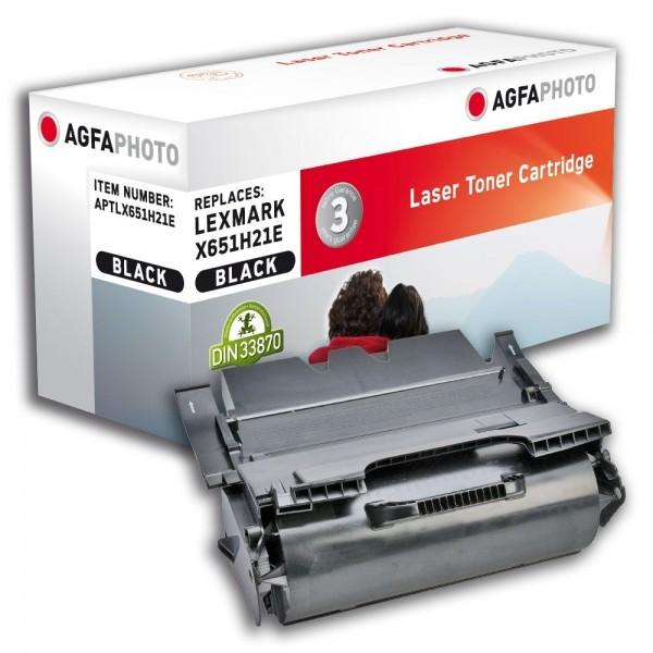 AGFA Photo Toner schwarz X651H21E für Lexmark X651 X652 X654