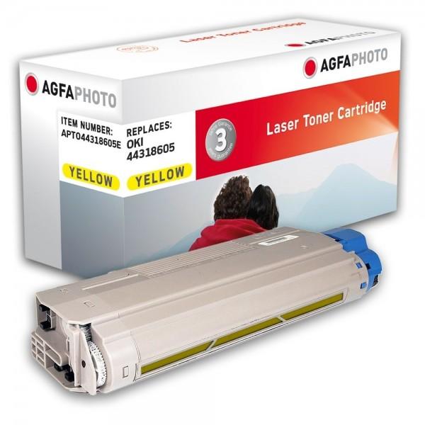 AGFA Photo Toner gelb 44318605E für OKI C710